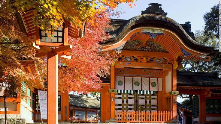 14-paysages-magnifiques-japon Le sanctuaire de Usa Shrine, à Oita