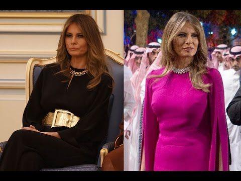 Melania Trump: Fashion And Style In Saudi Arabia - https://www.fashionhowtip.com/post/melania-trump-fashion-and-style-in-saudi-arabia/