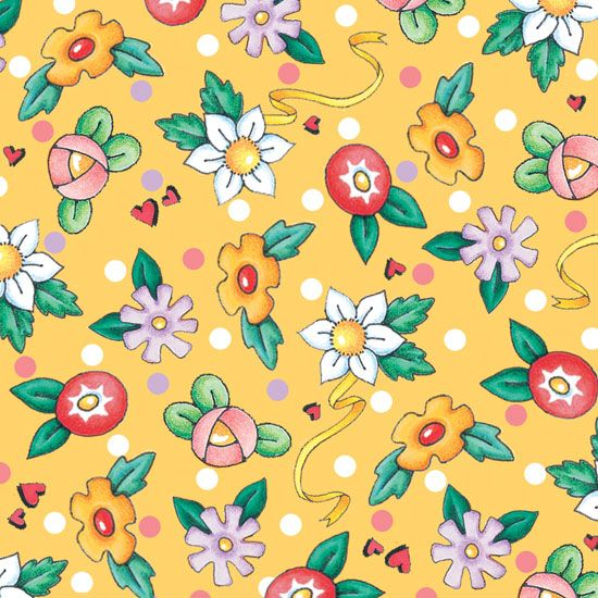 wrapping paper or wallpaper .. 76472-S   Mary Engelbreit! fabric for VIP at Hancock Fabrics