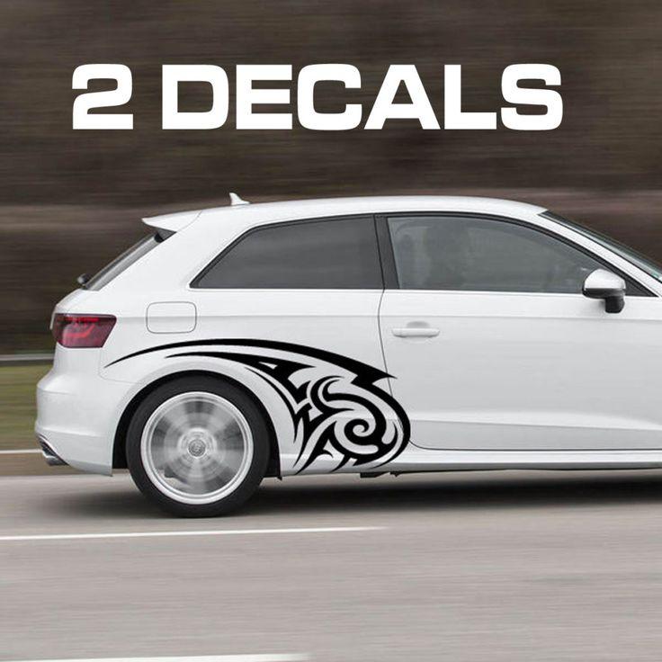 Tribal Design Car Door Decal Sticker Car Volkswagen