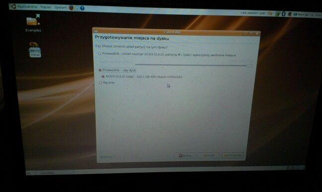 Ubuntu jakoś lepiej szuka