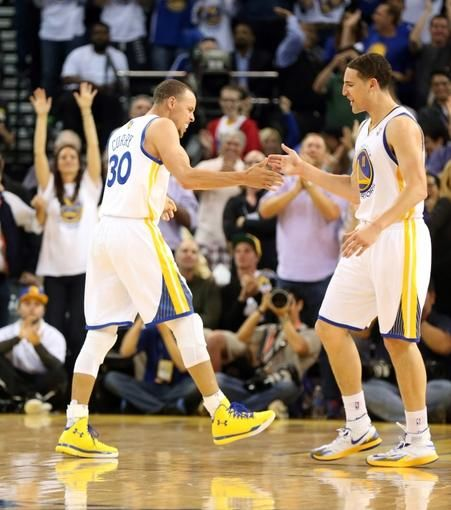 Golden State Warriors  Stephen Curry, Klay Thompson