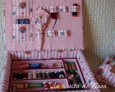La casita de Rosa: Reciclar una caja de vino.