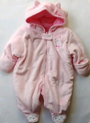 872f03953 baby snowsuit - Baby Girl Carters Just One You NB Pram 1pc Snowsuit ...