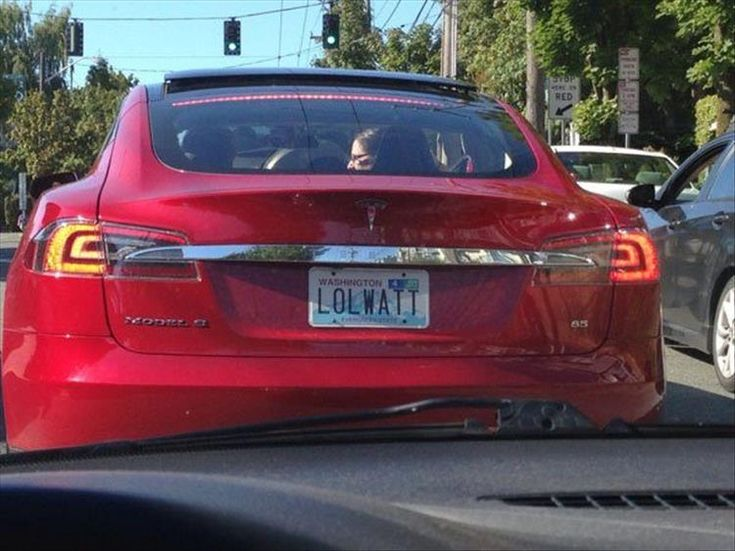 Tesla Owners Are Getting Creative With Their Plates - 19 Pics