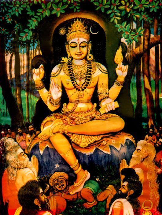 64 சிவ வடிவங்கள் (32.தட்சிணாமூர்த்தி)