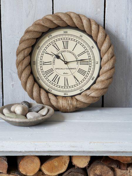 Nautical Rope Clock