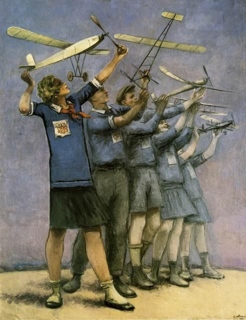 Адливанкин С.Я. Состязание юных моделистов. 1931