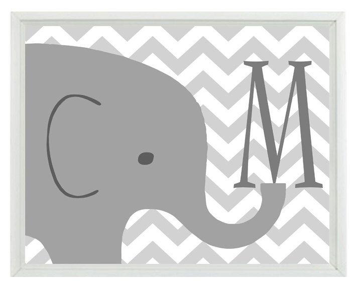 Elephant Nursery Wall Decor 52 best elephant themed nursery images on pinterest | nursery