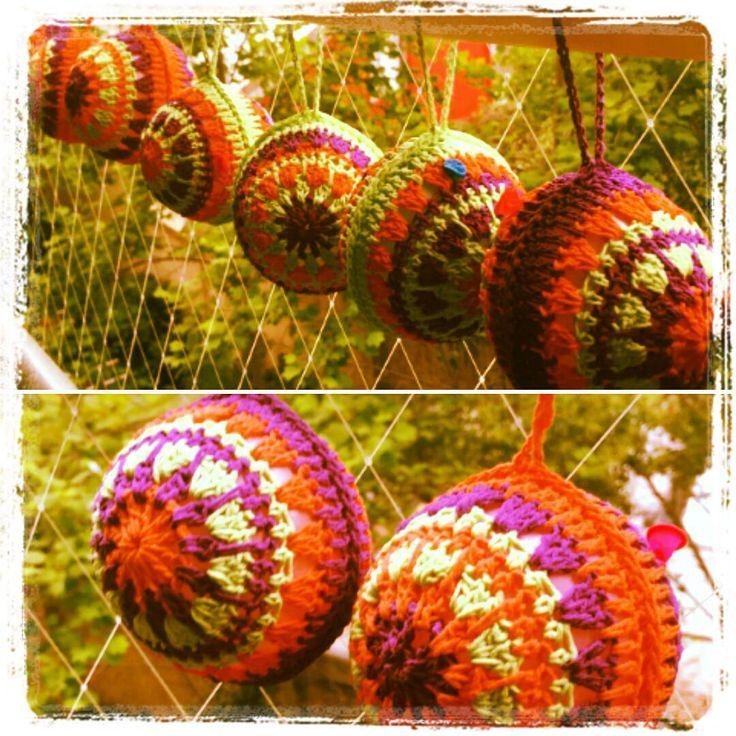 ...:::Secado Casi Listas :::... #crochetballs #bolasdecrochet #echoamano #crochet #tejidoamano #chilegram #instachile