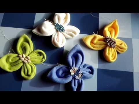 Schmetterlinge nähen aus Fleecedecke, Frühling/Sommer DIY - YouTube