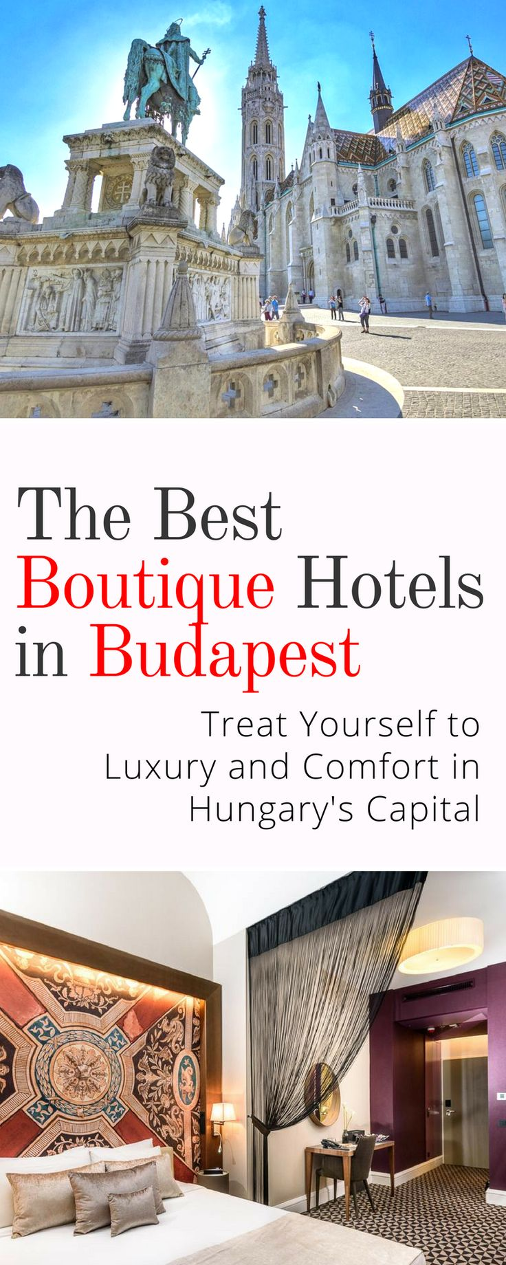 Best Boutique Hotels in Budapest: Budapest has accommodation options galore so you won't have trouble finding something to suit your budget. We've compiled a list of some of the best boutique hotels in Budapest to help you out, so check them out and enjoy your stay in Hungary's capital city!