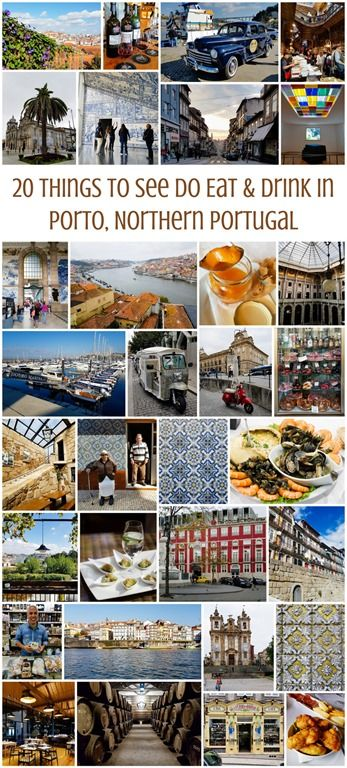 20 Things to See Do Eat & Drink in Porto, Northern Portugal