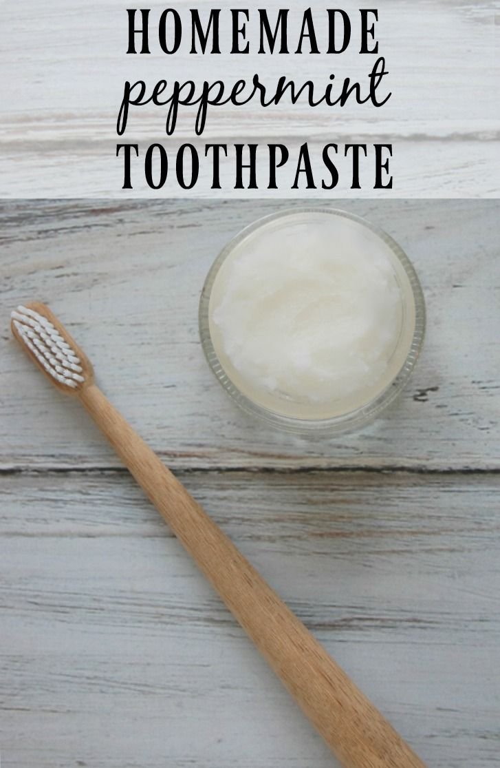 Homemade Peppermint Toothpaste - This toothpaste is easy to make, inexpensive, and contains only helpful ingredients; no more toxins!