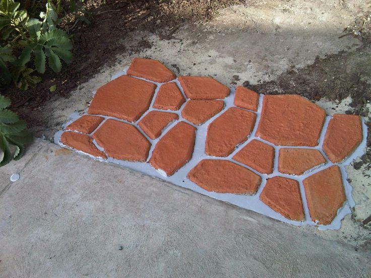 Concrete Patio Paver Mold
