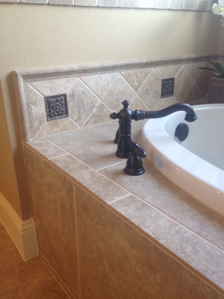 Our Country Homes Model Garden Bathtub With Oil Rubbed Bronze Victorian Style Faucet And Bronze