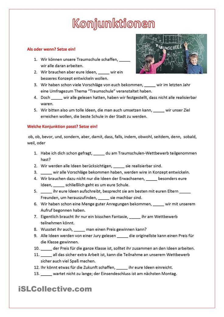 157 best Die Nebensätze images on Pinterest | German grammar ...