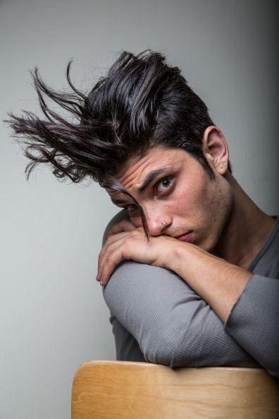 Glee Star Samuel Larsen Cuts Off His Dreads (Photos)