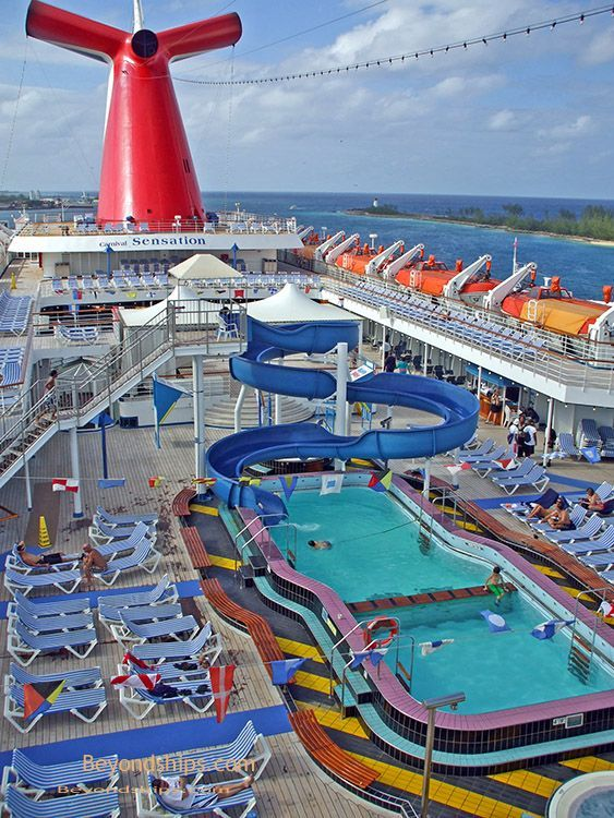 Carnival Sensation Photo Tour And Commentary Page 6