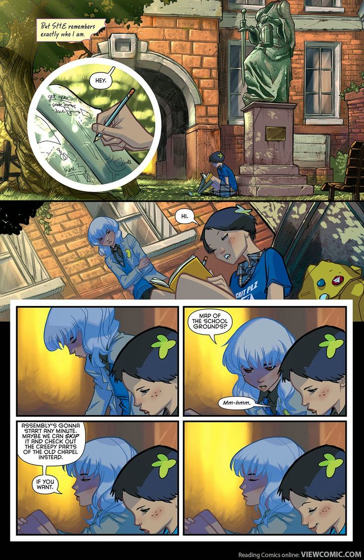 Gotham Academy 001 (2014) …………………… | Viewcomic reading comics online for free