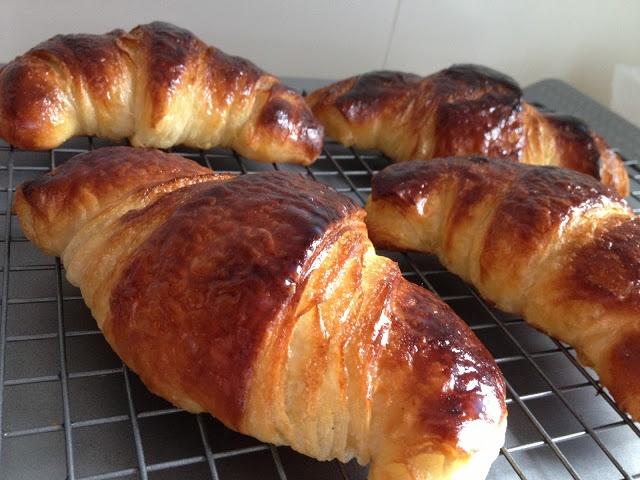 La chica de las recetas: Croissants de mantequilla - reloaded