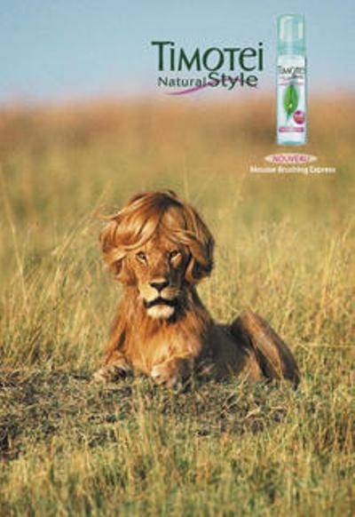 What you think about using wild animals in that kind of advertising?