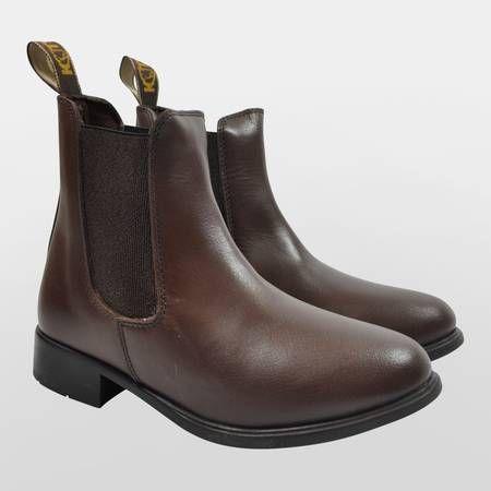Phoebe Leather Jodhpur Boots - Adults
