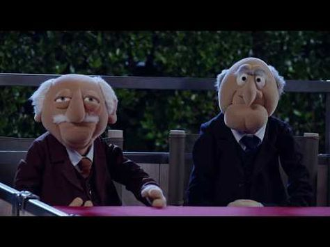 Statler & Waldorf at The Hollywood Bowl | The Muppets - YouTube