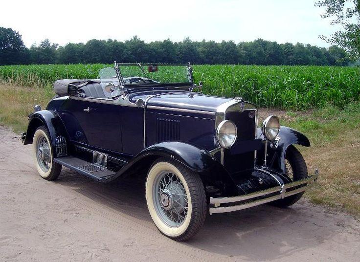 1930 Chevrolet Sport Roadster - (Chevrolet Motor Co. Detroit, Michigan1911-present)