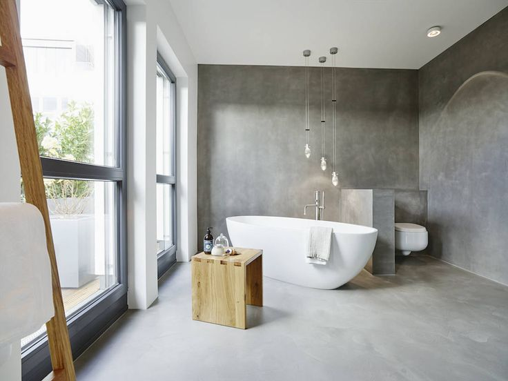 Perfektes penthouse mit pers nlichkeit honey spices and for Badezimmer 60er