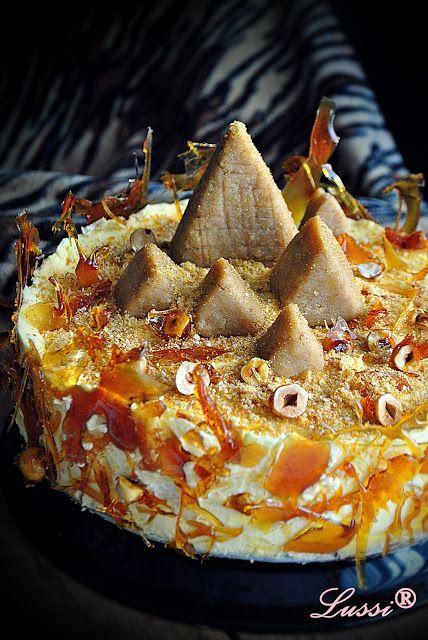 Lussi`s World of Artcraft: Египетска торта / Egyptian Cake