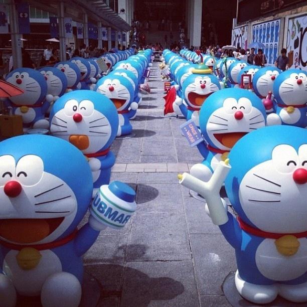 La la la... Aku sayang sekali Doraemon #doraemon #cartoon #japan - @yan_machedaa- #webstagram