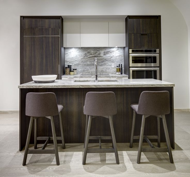 Two Tone Kitchen Design At Scala.