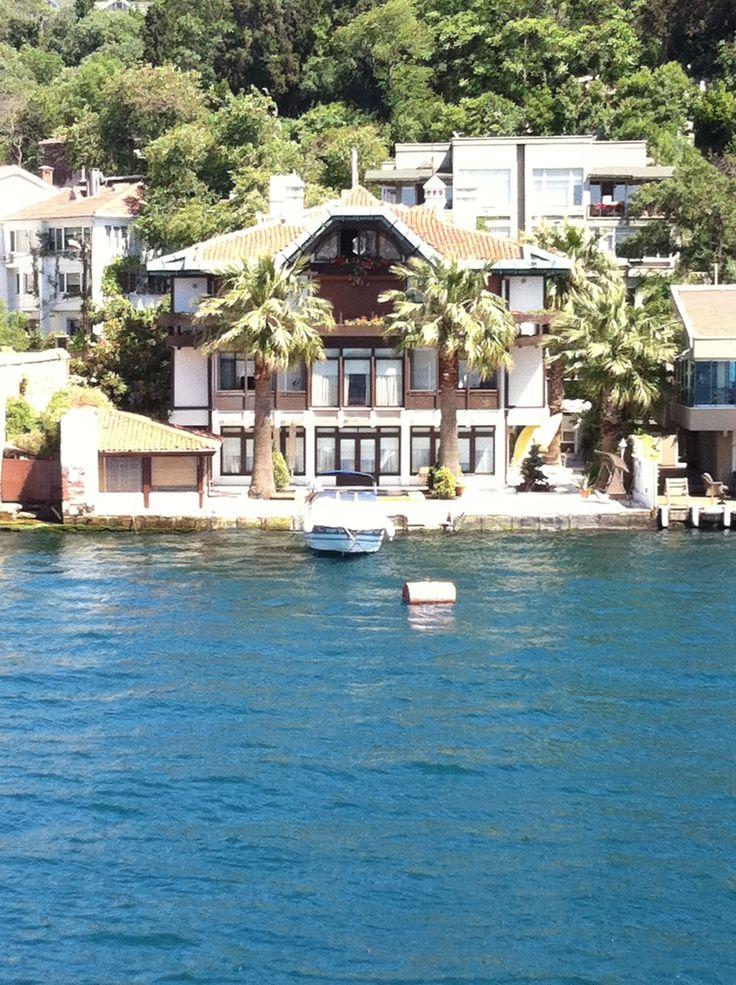 A house on the Bosphorus