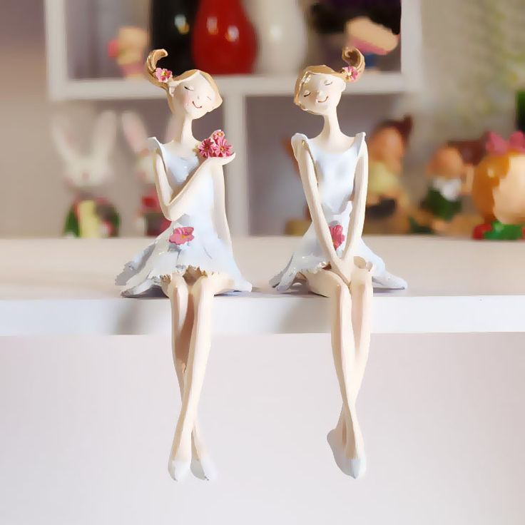 Aliexpress.com : Buy AIBEI Europe Style Resin Fairy Figurines 2PCS/SET Handmade Beautiful Angel Wedding Home Decoration Gifts Crafts from Reliable handicraft article suppliers on AIBEI   Home Decoration