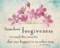 President Gordon B. Hinckley Forgiveness Quote Nauvoo LDS Mormon Art