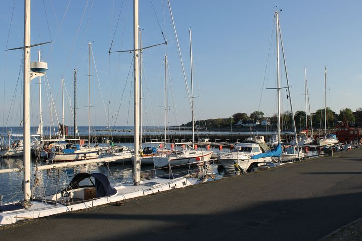 Saliboats in the harbour of Skillinge