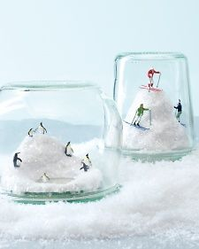 Capture the season under glass -- and check lots of folks off your list easily and inexpensively with these mini wintry worlds.