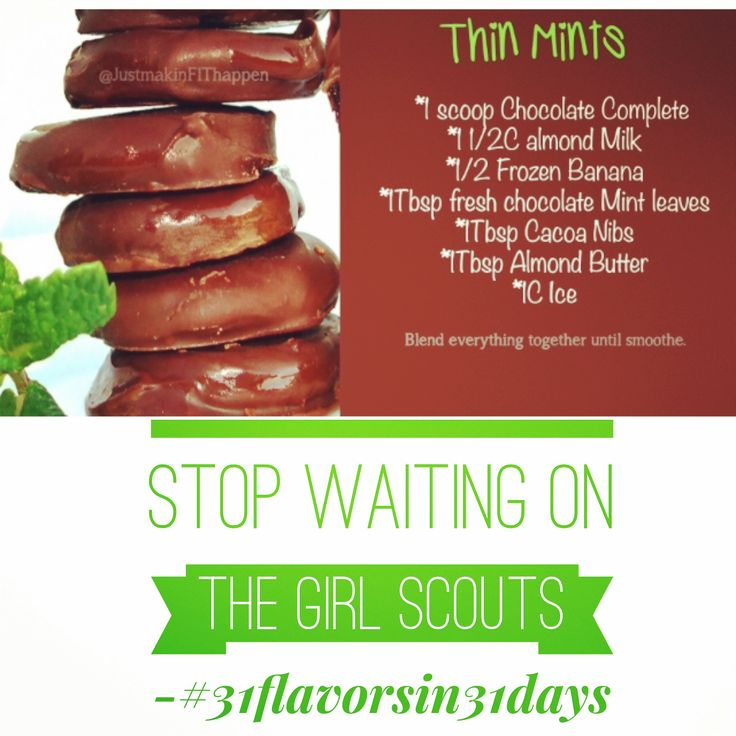 #GlutenFree #DairyFree Tastes like a girl scout cookie! Another favorite from #31flavorsin31days