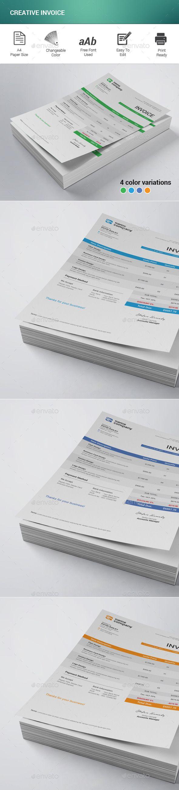 1300 besten Company Invoice Templates Bilder auf Pinterest ...