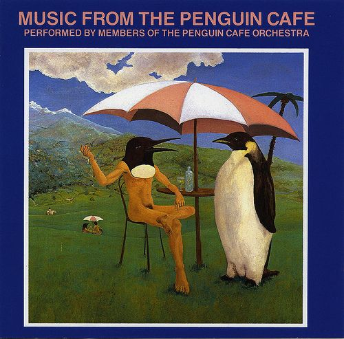 Penguin Cafe Orchestra - great to play really loudly when working on a creative project early in the morning or after dark