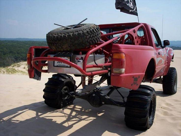 4Wd ford ranger long travel suspension