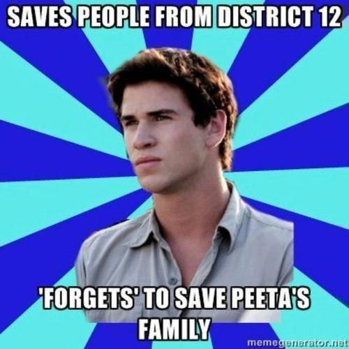 Even though I'm totally pro-Gale, he should have saved Peeta's family!!
