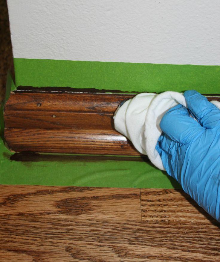 Diy Gel Stain Cabinets No Heavy Sanding Or Stripping: 25+ Best Ideas About Oak Stain On Pinterest