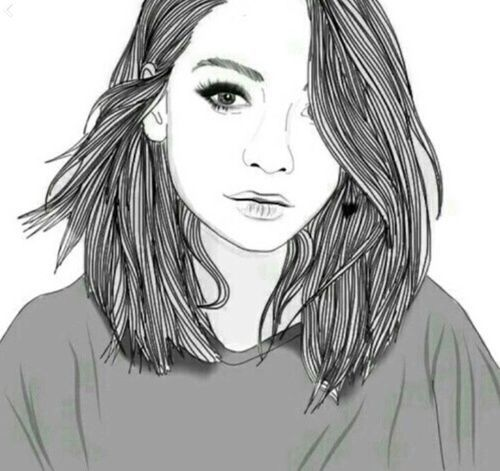 10 best Tumblr drawing images on Pinterest | Girl drawings ...