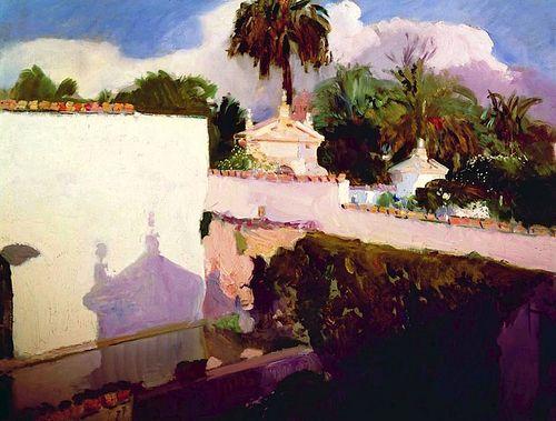Joaquin Sorolla y Bastida - The Alcazar 1908