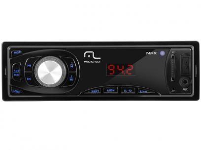 Som Automotivo Multilaser Max P3208 MP3 Player - Rádio FM Entrada USB Auxiliar/SD Card com as melhores condições você encontra no Magazine Tradelux. Confira!
