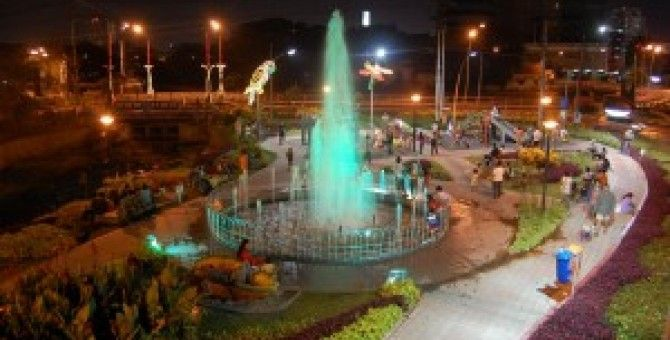 Bungkul Park of indonesia