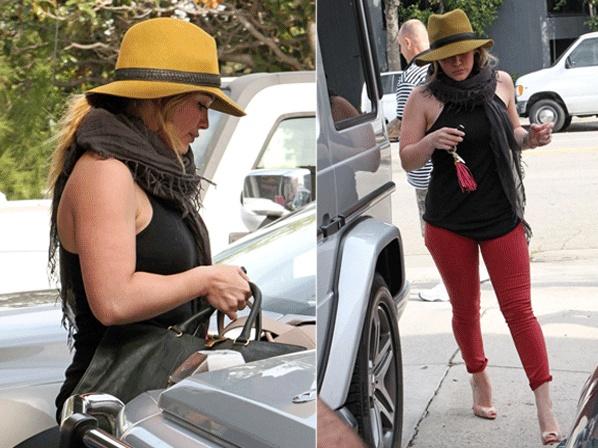 Hilary Duff baja de peso con Pilates.