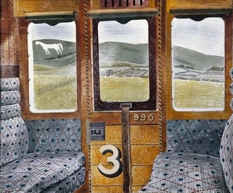 Train Carriage - Eric Ravilious